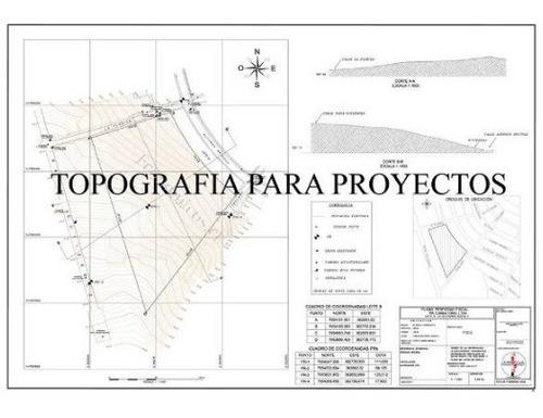 planos topograficos autocad