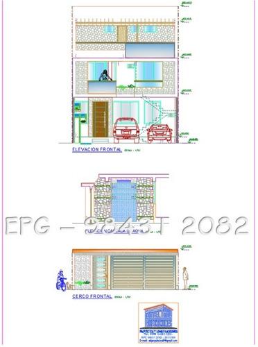 planos y construcciones