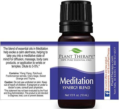 plant terapia meditation synergy mezcla aceites esenciales g