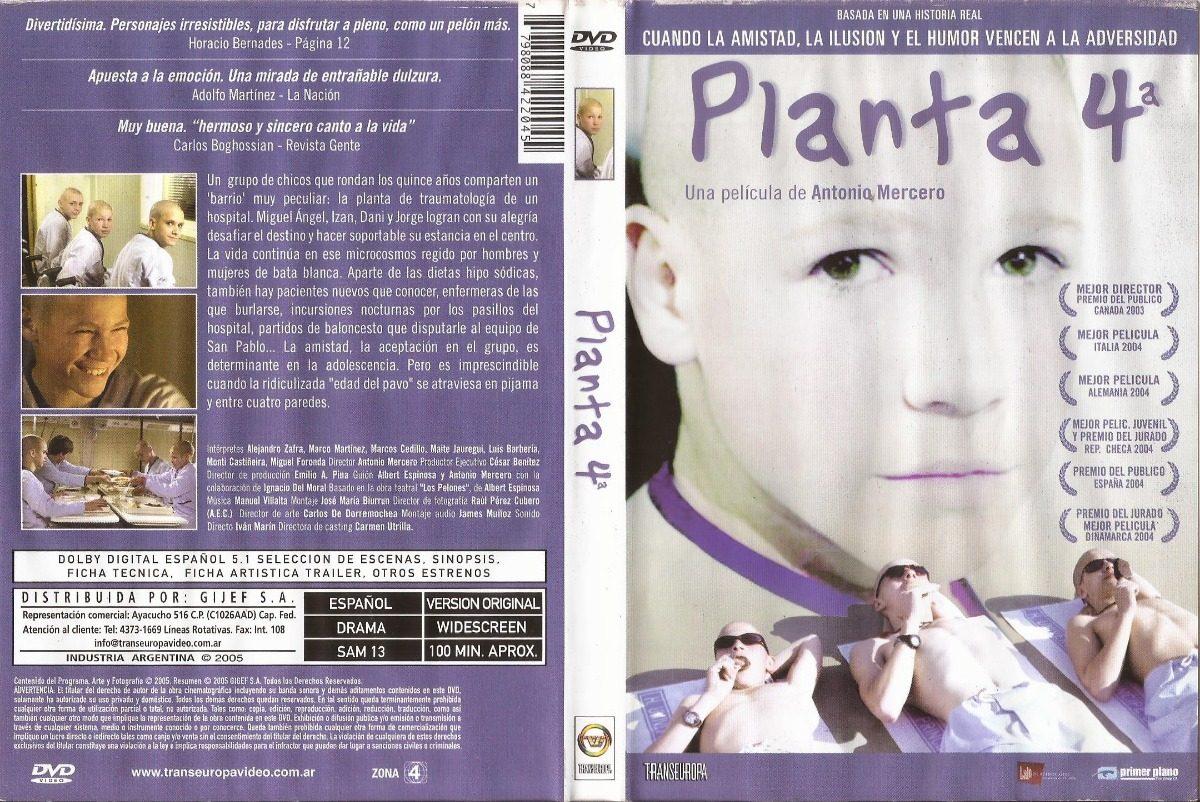 Planta 4 Dvd Juan José Ballesta Luis Ángel Priego - $ 170,00