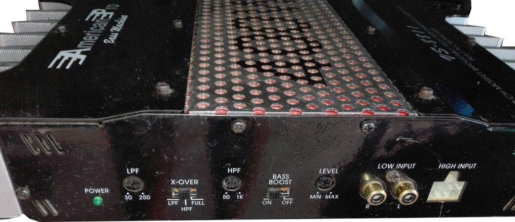 american pro bass machine