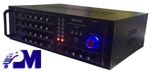 planta amplificador 5000watts de alto poder radio fm usb mp3