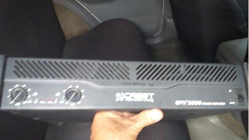 planta amplificador crest audio 2600 solo le falta la tapa