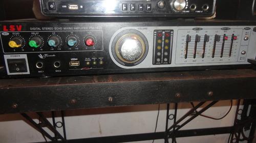 planta amplificador de sonido lsv modelo pm 1620 120 w