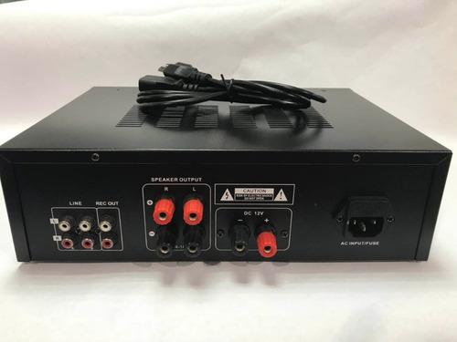 planta amplificador de sonido para casa fm usb blutooth aux