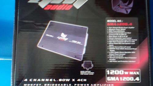 planta amplificador gm 1200.4 stereo excelente precio.!