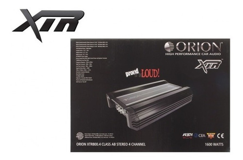 planta amplificador orion 800.4 stereo excelente precio!