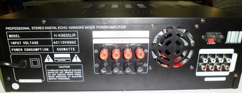planta amplificador semiprofesional con usb de casa