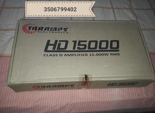 planta amplificador taramps hd15000