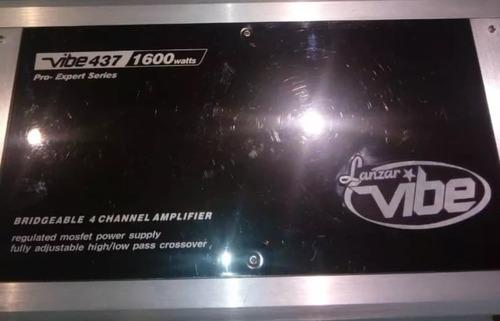 planta amplificador viber lanzar 1600 watts 4 canales oferta