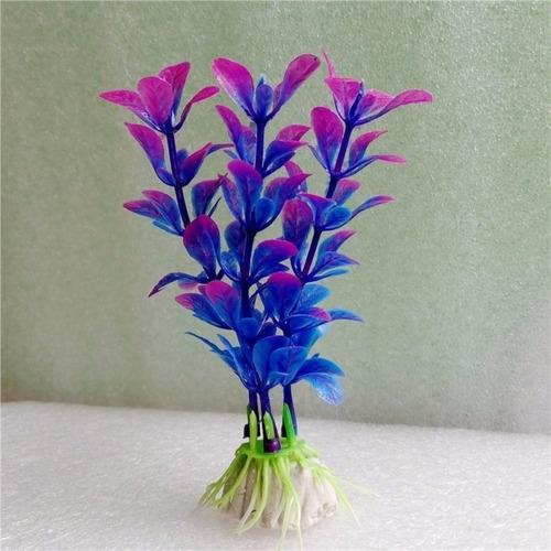 planta aquática artificial para decorar aquários cod:0607