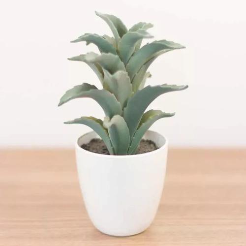 planta artificial con maceta decoracion hogar