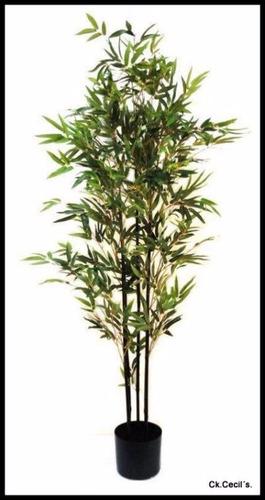 planta artificial decorativa - bambu
