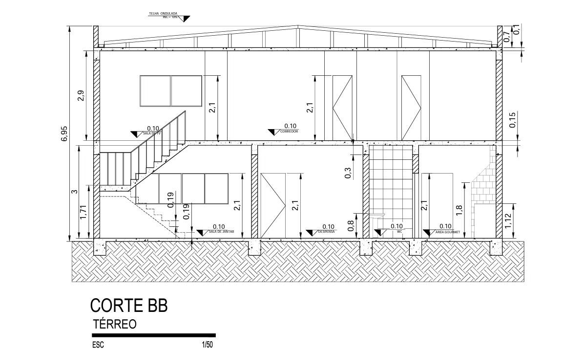 Planta Baixa De Casa Residencia R 650 00 Em Mercado Livre