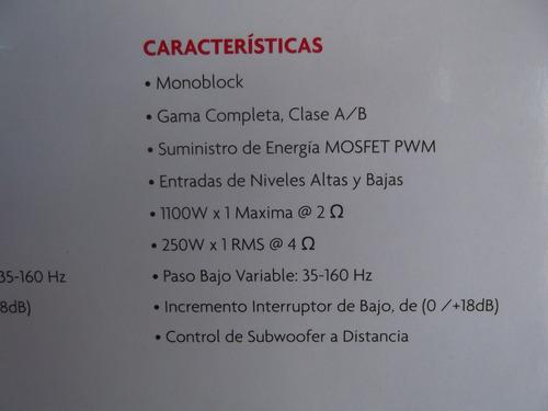 planta  boss 1100w (nueva original garantía tienda)