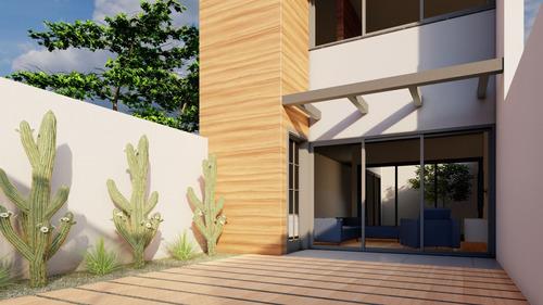 planta casa de 150m² - projeto arquitetura- terreno 5m x 25m