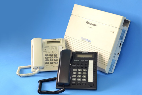 planta central telefónica panasonic kx-tes824. pbx