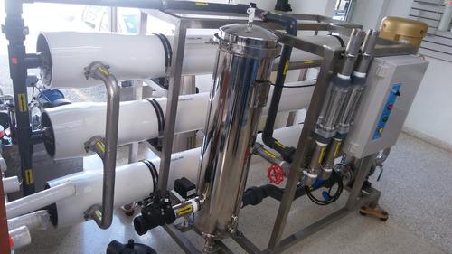 planta de agua purificadora y embotelladora
