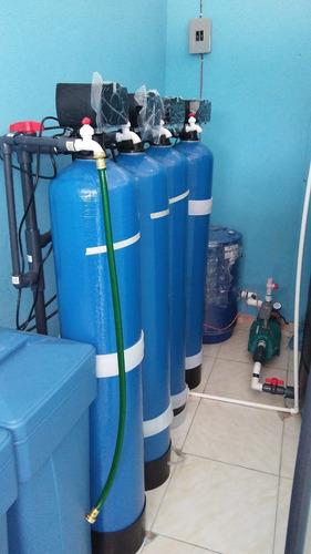 planta de agua y equipos para mantenimiento de agua