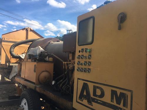 planta de asfalto adm 40tph lista para trabajar