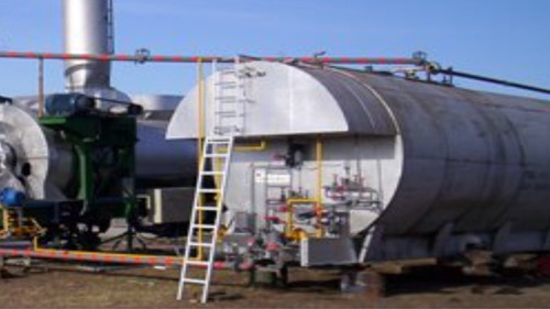 planta de asfalto móvil parker 60 a 90tn x pesada c/3modulos