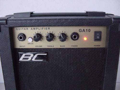 planta de bajo, guitarra y microfono bc-10 watts