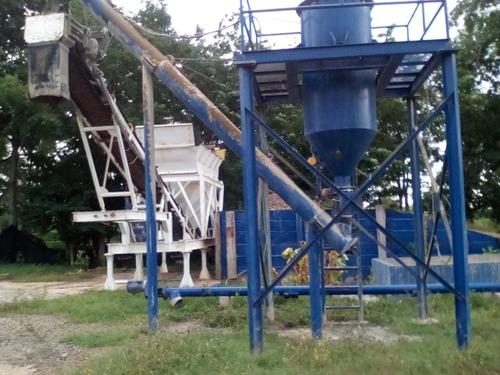 planta de concreto 40 m3/hora automatizada