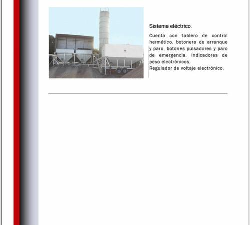 planta de concreto