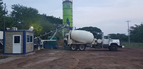 planta de concreto completa