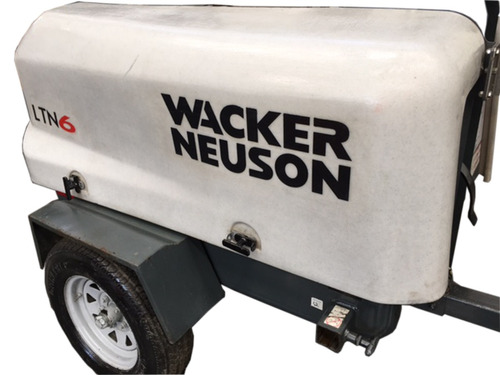 planta de iluminación wacker neuson 2010 kohler