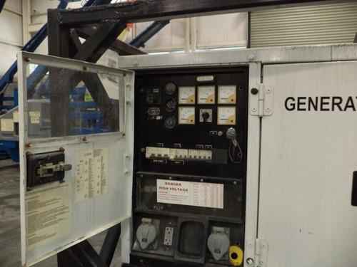 planta de luz atlas copco 2003 diesel 35 kva modelo gp25k