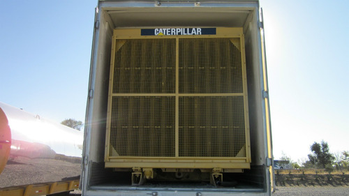 planta de luz caterpillar 3508 1000 kw seminueva caja seca