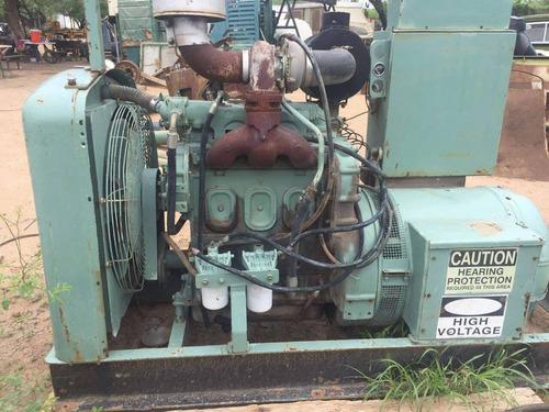 planta de luz detroit diesel de 100 kw 3 cilindros 125 kva
