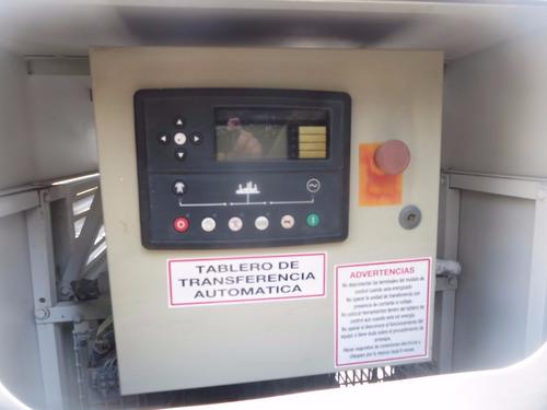 planta de luz generador 55 kw planelec  emergencia  431