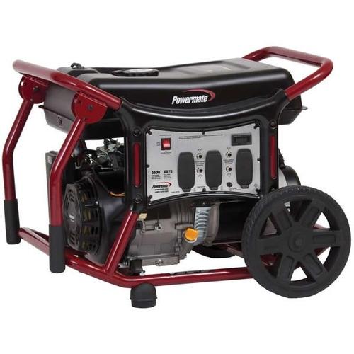 planta de luz generador 6875 watts coleman moreci  powermate