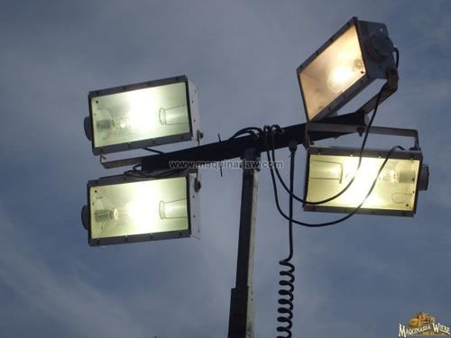 planta de luz generador luminaria torre de luz lampara a die