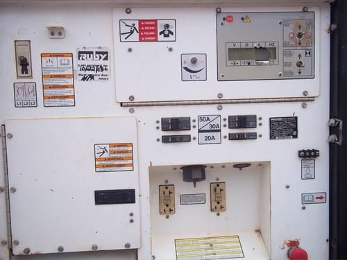 planta de luz, generador wagner g25