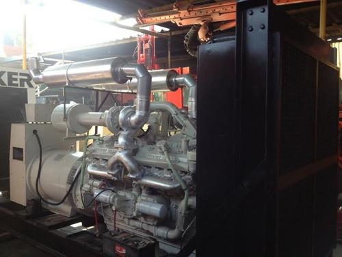 planta de luz igsa 600 kw motor 12v92 seminueva garantia