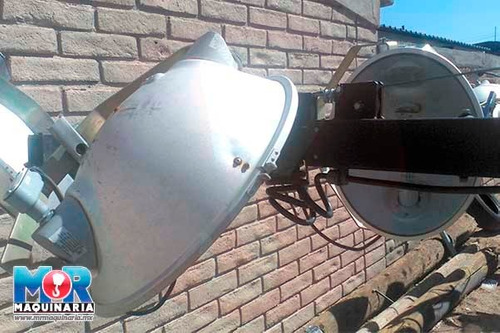 planta de luz magnum 2012, lamparas, torre de luz