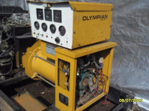 planta de luz olympian 25 kva generador emergencia caterpill