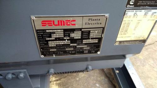 planta de luz selmec motor cummins 4 cilindros