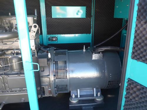 planta de luz y emergencia 33 kw 41 kva 220/440 v nueva