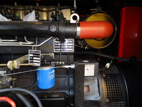 planta de luz y emergencia dover 30 kw 45 kva 220/127v nueva