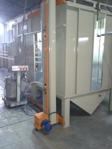 planta de pintura en polvo para perfiles de aluminio