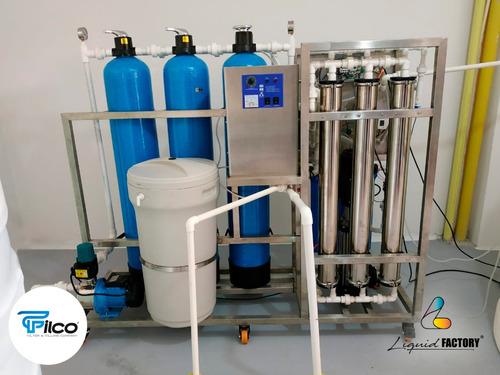 planta de purificacion de agua con osmosis inversa