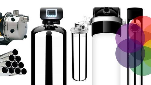 planta de purificación y filtración de agua + llenadora