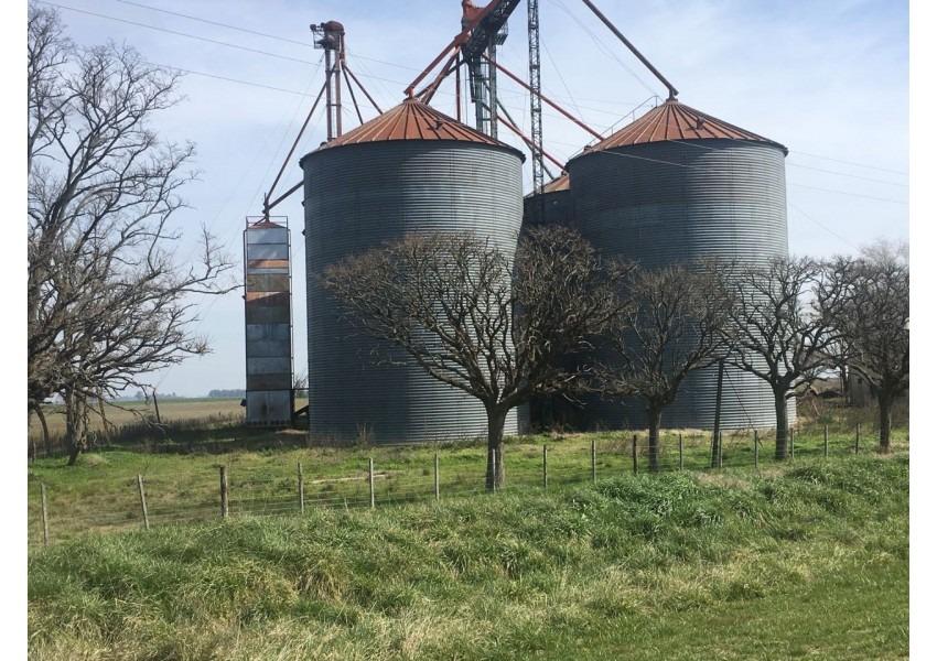 planta de silo en del carril