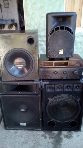 planta de sonido casero de 1000 watts con accesorios 500$