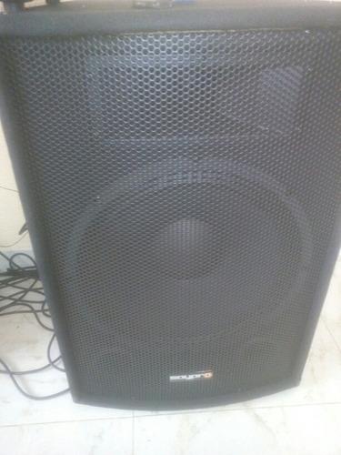 planta de sonido para bar o eventos