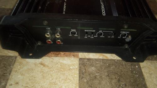 planta de sonido para carro 1000 watt de 1 canal